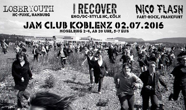 02.07.2016 Jam Club Koblenz (Flyer)